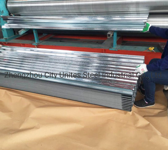 Galvanized Corrugated Iron Sheet Hot Dipped Galvanized Steel Roof Sheets for Africa Market