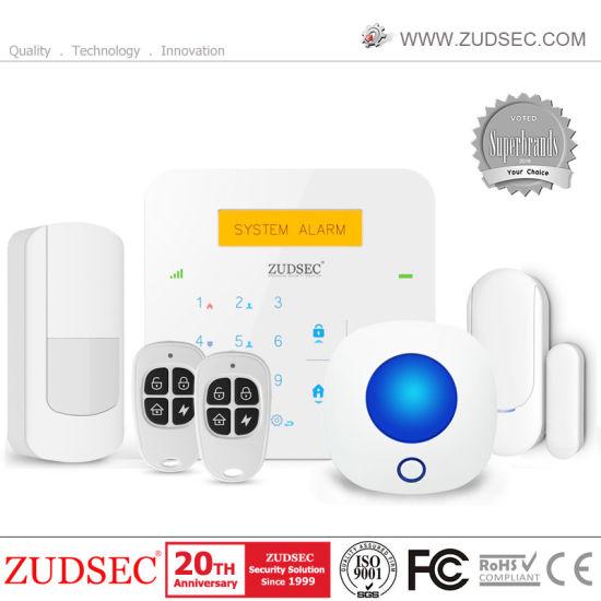 GSM Security WiFi Alarm System with WiFi Camera