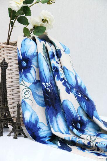 Printing Burnout Velvet Is Look Special Velvet Sofa Curtain Fabric