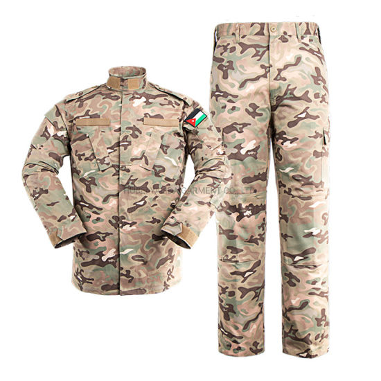 China Biggest Manufacturer with Military Uniform and Combat Uniform for Middle East