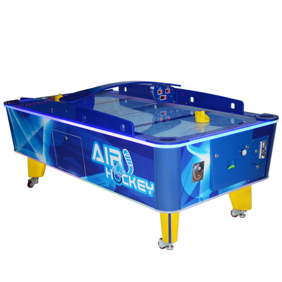 China Indoor Amusement Games New Products Classic Sport Table Air Hockey Game Machine For Kids And Family China Electronic Air Hockey Table And Air Hockey Game Machine Price