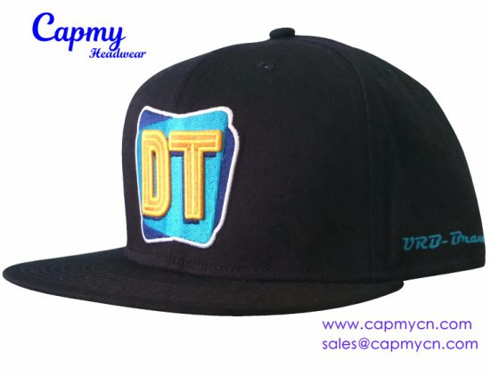 Custom Design Logo Strapback Cap Hat Supplier in China - China ... 13bf3394b0e