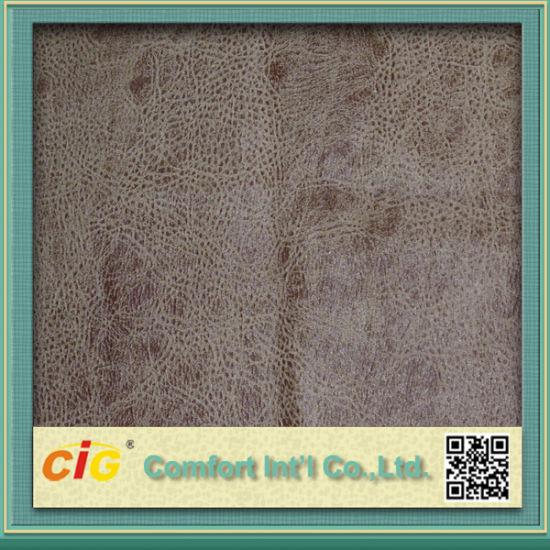 Bronzing Suede Sofa Fabric Shsf04515