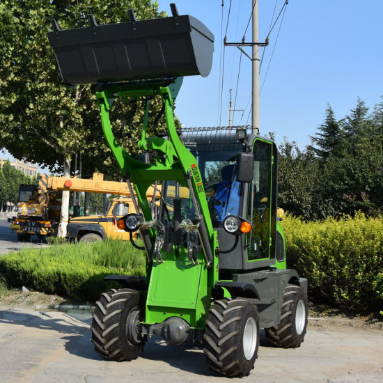 800kg Mini Wheel Loader with Hydraulic Transmission pictures & photos