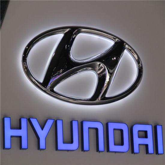 Acrylic LED Lighted Car Logo Sign
