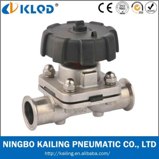 Stainless Steel Sanitary Clamp Diaphragm Valve Klgmf-20m pictures & photos