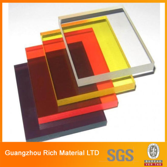 China Transparent/Color Acrylic Sheet Plastic PMMA Pelxiglass Sheet ...