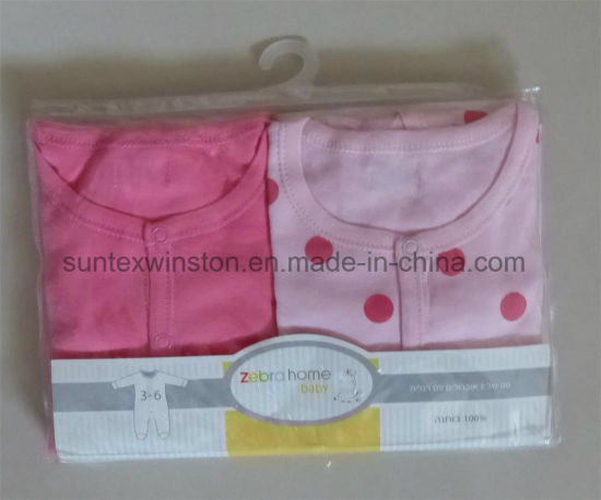 100% Cotton Jersey Baby Suit pictures & photos