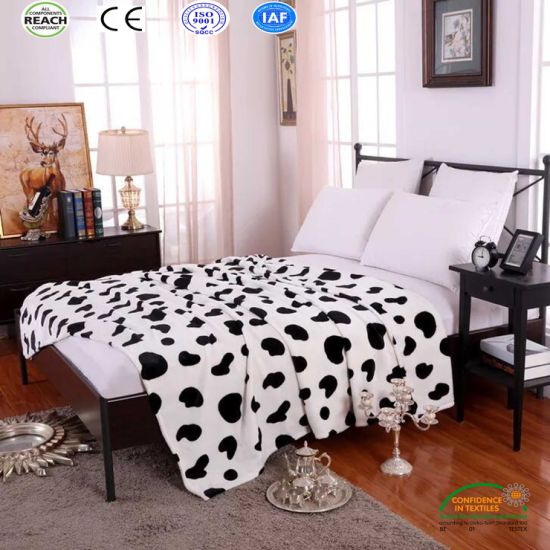 China Cute Printing Flannel Fleece Bed Blanket In King Size Queen Magnificent Cute King And Queen Quotes