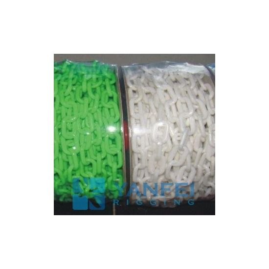 Caution Plastic Chain for Warning Purpose pictures & photos