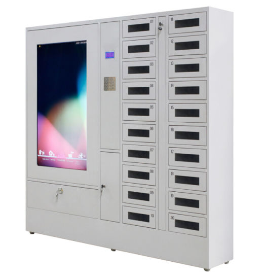 Smart Supermarket Electronic Phone Locker pictures & photos