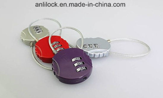 Combination Padlock, Christmas Gifts Lock (AL8007. AL8002) pictures & photos