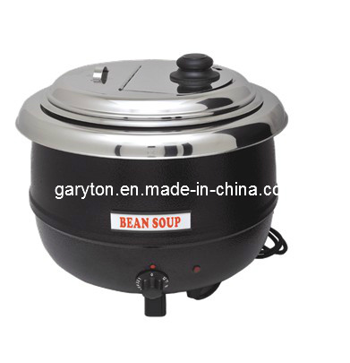 Stainless Steel Electric Soup Kettle for Souping (GRT-SB6000A)
