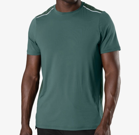 Supplier Bamboo Cotton T Shirts with High Quality