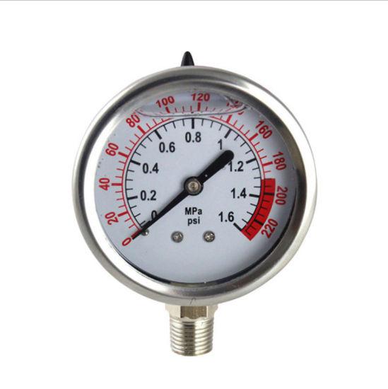 """Best Sale 4"""" (100mm) Dia Stainless Steel Pressure Range 0-100 MPa Pressure Gauge"""