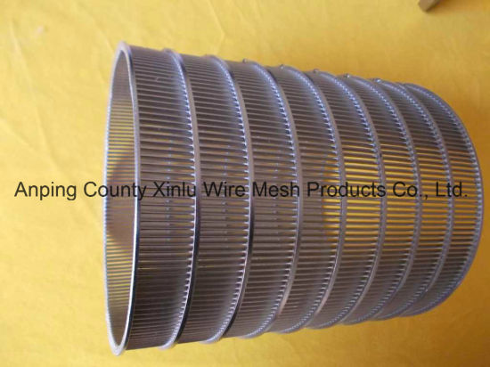 China Wedge Wire Screen Cylinders Made From Vee Shaped Wire - China ...