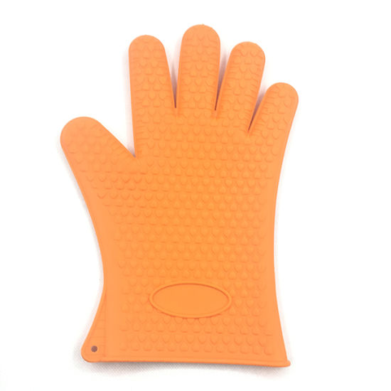 Silicone Glove for Oven Cooking Pot Holder Silicone Rubber Oven Gloves