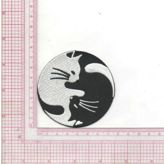 Wholesale Custom Aka Sequin Embroidery Patch for Clothing