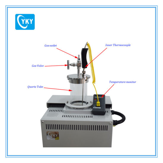 Laboratory 1200c Vacuum Vertical Tube Furnace for Fluidized Bed CY-V1200-60IT pictures & photos