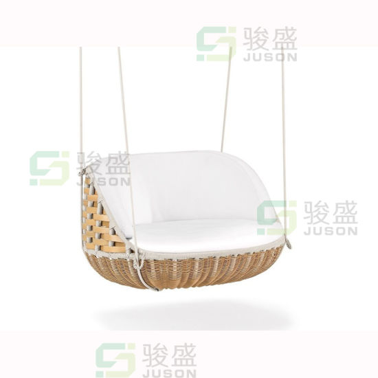 Hotel Furniture Modern Outdoor Hanging Chair Rattan Patio Chair Leisure Chair Garden Swing
