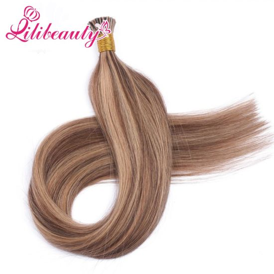 Keratin Remy Human Hair Pre-Bonded I Tip Hair Extension for Women pictures & photos