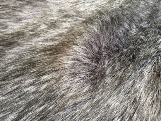 Long Pile Silve Fox Fake Fur pictures & photos