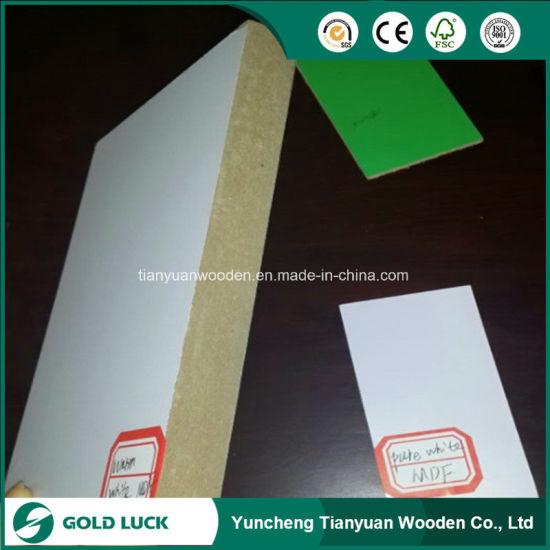 3mm 6mm 12mm Melamine Faced MDF/Plain MDF pictures & photos