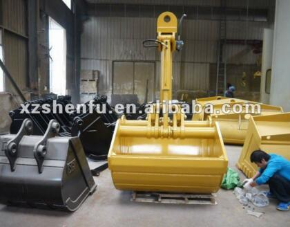ISO SGS Approved Excavator Hydraulic Clamshell Bucket Slewing pictures & photos