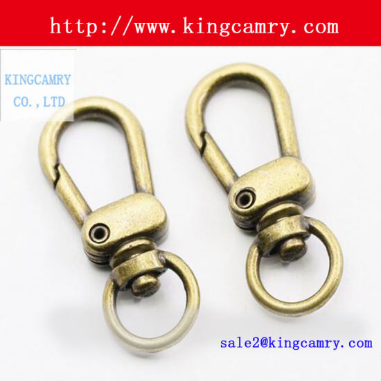 Solid Brass Swivel Hook Clasp Hooks For Bag Dog Handbag Snap Spring Key