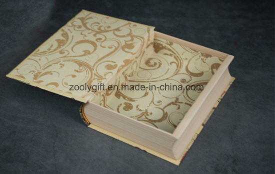 Fake Book Decorative Paper Boxes Book Shaped Unique Gift Boxes pictures & photos