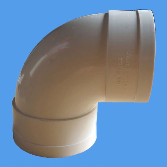 Bend 88 Deg OEM PVC Pipe Fitting for Drainage pictures & photos