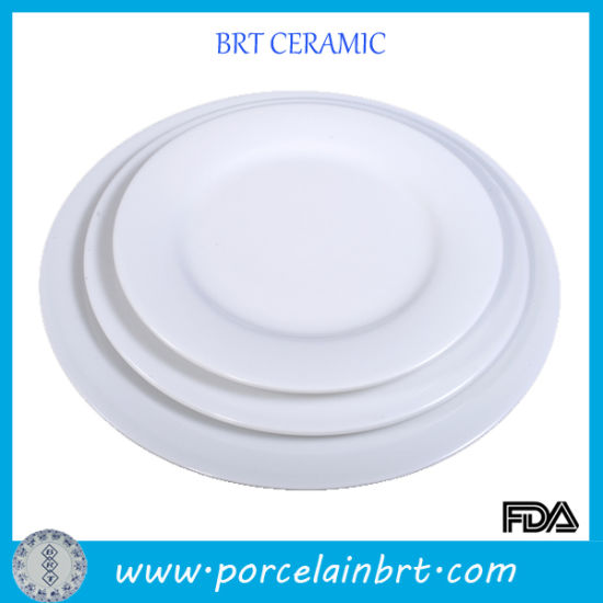 Basic White Hotel Used Dinner Plates  sc 1 st  Xiamen Yoyo Ceramic Trading Co. Ltd. & China Basic White Hotel Used Dinner Plates - China Dinnerware ...