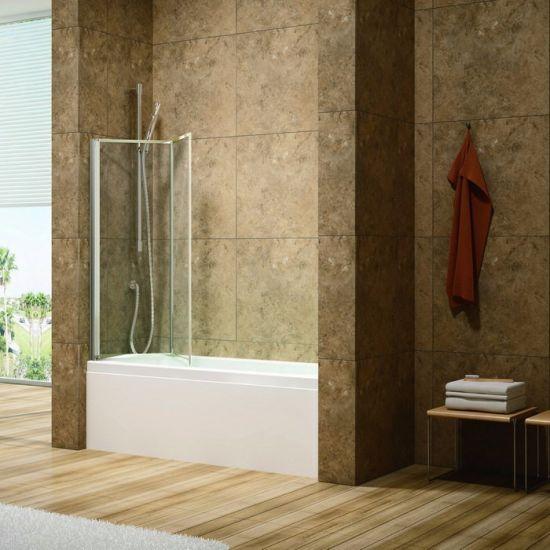 2 Folding Whole Al Frame Bathtub Tub Screen Door