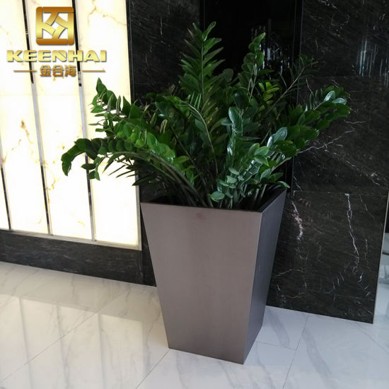 Customized Stainless Steel Decorative Planters Indoor Flower Pots pictures \u0026 photos & China Customized Stainless Steel Decorative Planters Indoor Flower ...