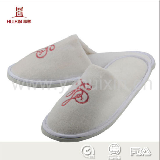 Hotel Men's Open Toe Indoor Slippers