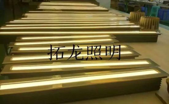 6063 Extruded Aluminum IP67 Customized Length Linear LED Inground Light 36W LED Uplighting pictures & photos