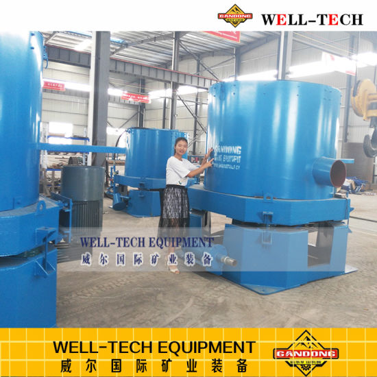 Centrifugal Concentrator for Fine Gold Recovery Equipment pictures & photos