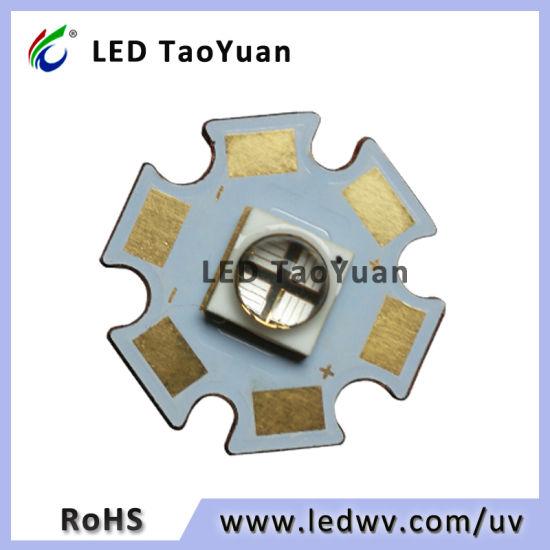 UV LED High Power 10W 365nm 4chip (Φ 20mm)