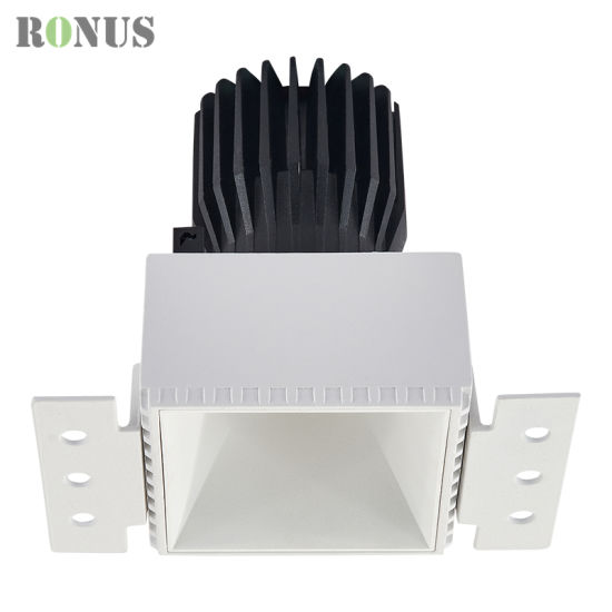 LED COB Spotlight MR16 White Reflector Trimless 5/10/15W Spot Light Lamp Ceiling Indoor Lighting Downlight