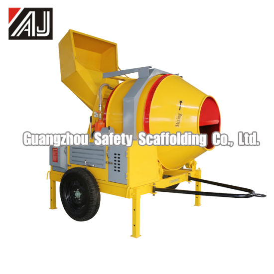Hot Sale Jzc350 Electric Motor Concrete Mixer (Made in Guangzhou, China)