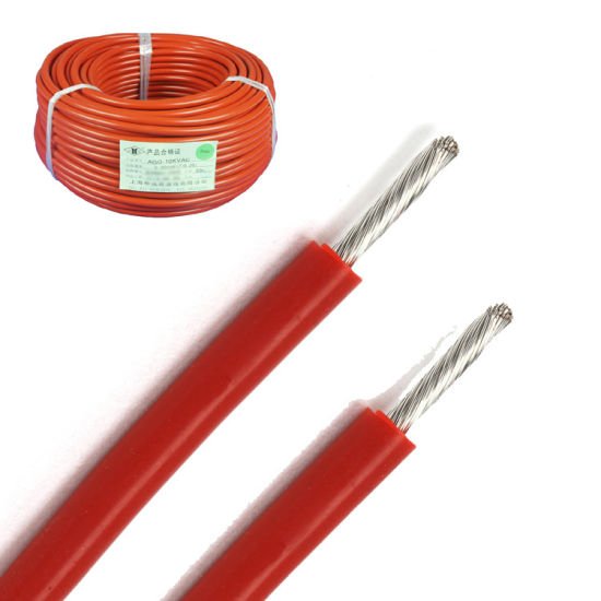 China Silicone Rubber Insulated High Voltage Fixing Wires (AGG ...