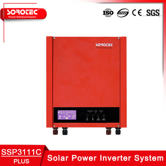 3kVA 24VDC off Grid Solar Inverter with 40A PWM Solar Charger pictures & photos