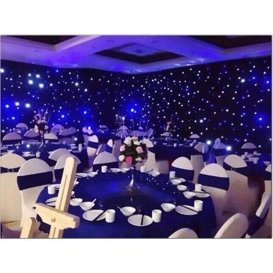 2016 Hot Sale RGB Light Star Curtain LED Star Curtains Outdoor LED Curtain pictures & photos