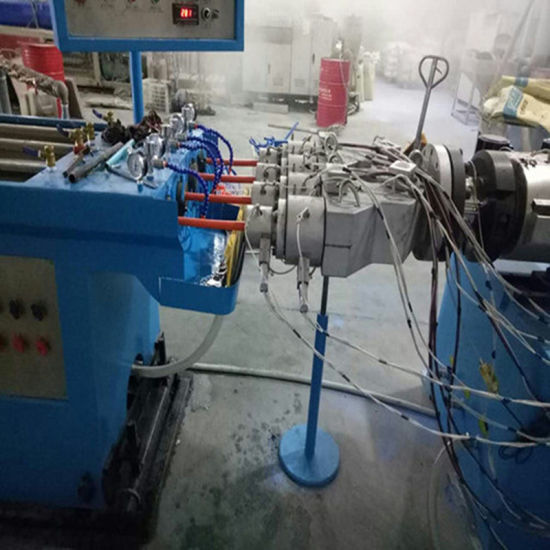 Four Cavities PVC Pipe Extrusion Line