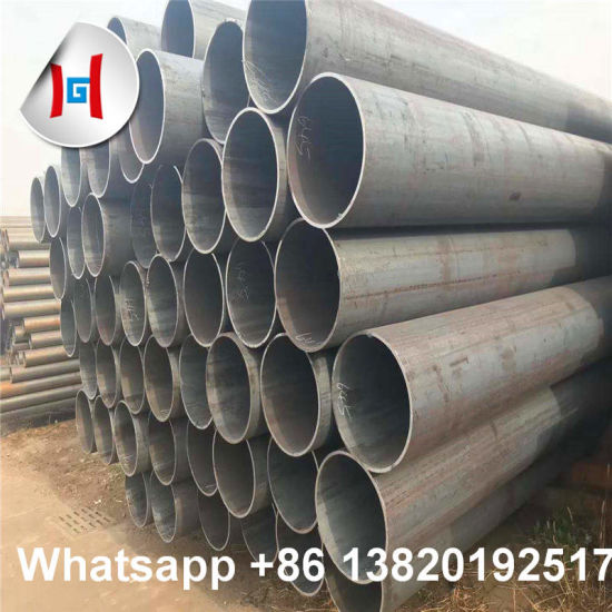 Plain End Beveled End Large Diamter Wall Thick A106 Grb Seamless Steel Pipe pictures & photos