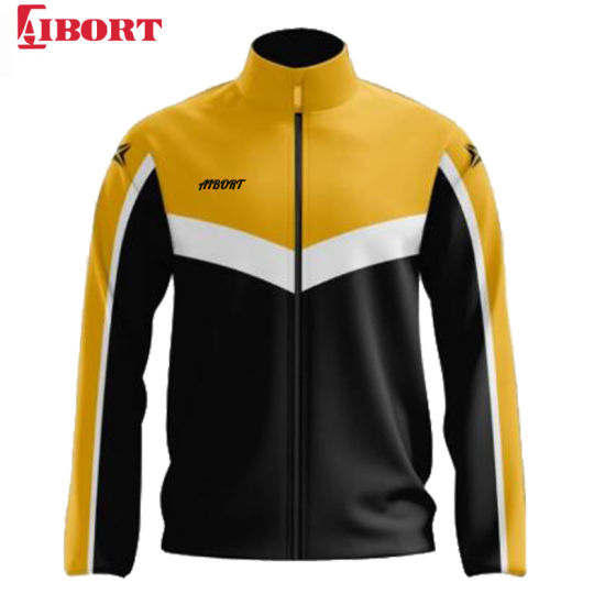 Aibort Yellow Wholesale Custom High Quality Fashion Jacket (Z-TKJ200214A)