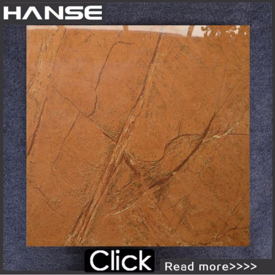 China 600x600 Orange Color Glazed Wall Ceramic Tile China Floor