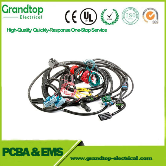 China Auto Wire Harness Cable Assembly OEM for Audio System - China ...