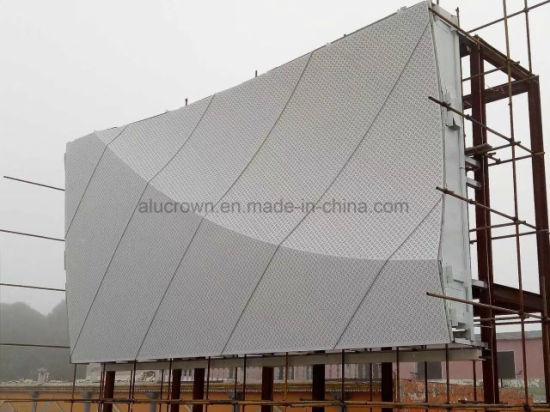 Aluminum Metal Exterior Wall Perforated Panel Design