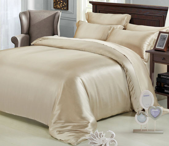 New Style 100% Silk Soft Skin High Quality Bed Sheet pictures & photos